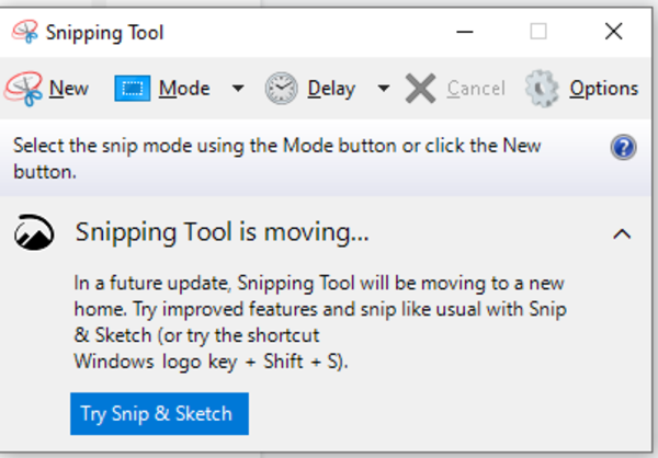 giao dien snipping tool